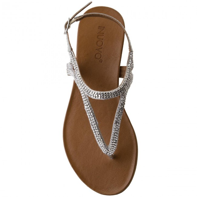 Et Femme 2018 Silver Decontractees Inuovo Mules 8396 summer Spring Sandales D2I9WHE