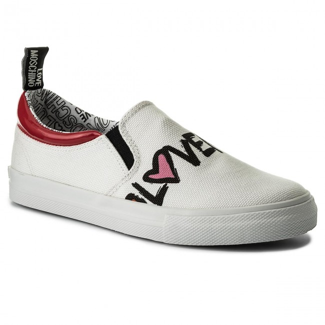 Love Tennis Bia Moschino vern Ja15453g05je110c Rsso Canv BChrsQtdx