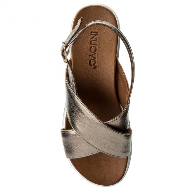 Inuovo Sandales 8726 Sandales Pewter Sandales Inuovo Pewter 8726 Pewter Inuovo 8726 dxBerCo