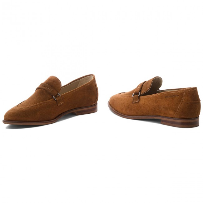 O'polo 802 Chaussures Cognac 720 Basses 14153201 300 Marc gbfy6Y7