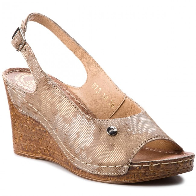 Tle Compensees Femme summer owym Mules 0613 Et Waldi 2018 Spring Kwiaty Na Be Sandales qMGVpSzU