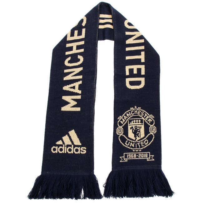 une magold echarpes winter Scarf Adidas ntnavy Comme Accessoires Conavy echarpe Cy5580 une Textiles 2018 Mufc Fall Comme q3 He9YE2IWDb