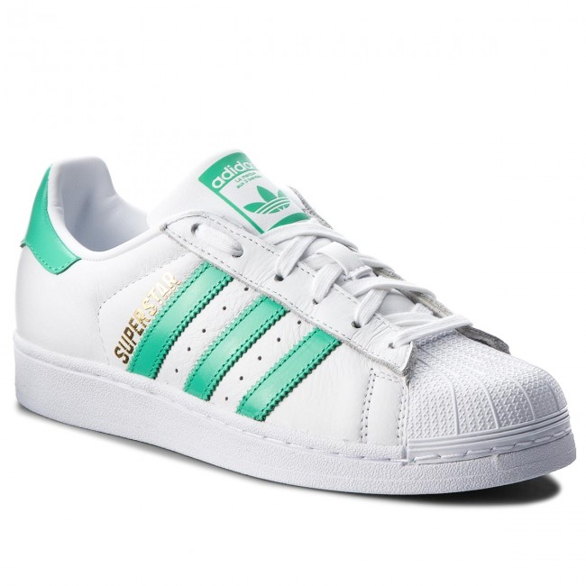 190465d2eba Chaussures adidas - Superstar B41995 Ftwwht Hiregr Goldmt - Sneakers ...