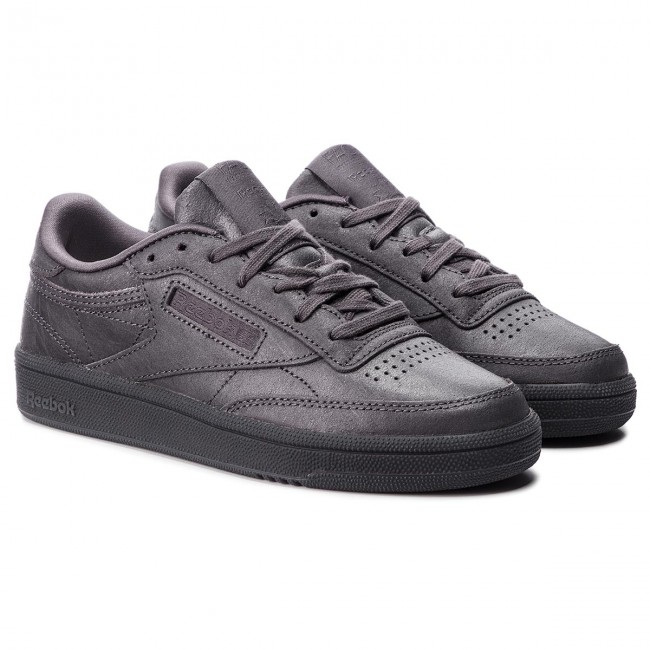 Chaussures Reebok Club C 85 Cn3735 Smoky Volcano/white Sneakers Basses Femme Fall/winter 2018/q3