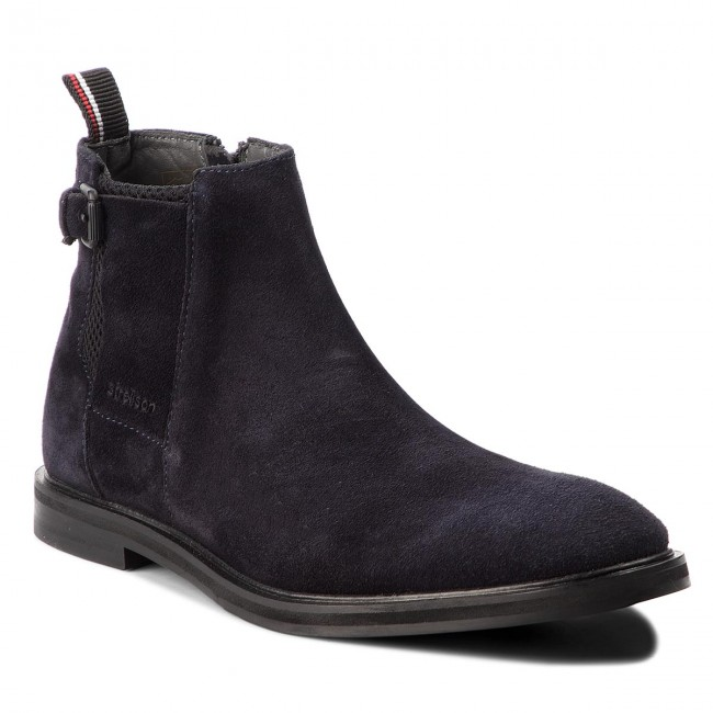 Et Dark Blue Homme Boots Autres winter 4010002494 Strellson Fall 2018 Harley New 402 Bottes dexWrCBo