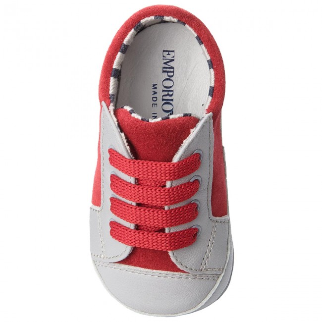 Sneakers Enfant Chaussures Emporio Armani red C857 Lacets Fall Fille winter 2018 Basses Xlx001 a Xon06 Grey wkX8nO0P