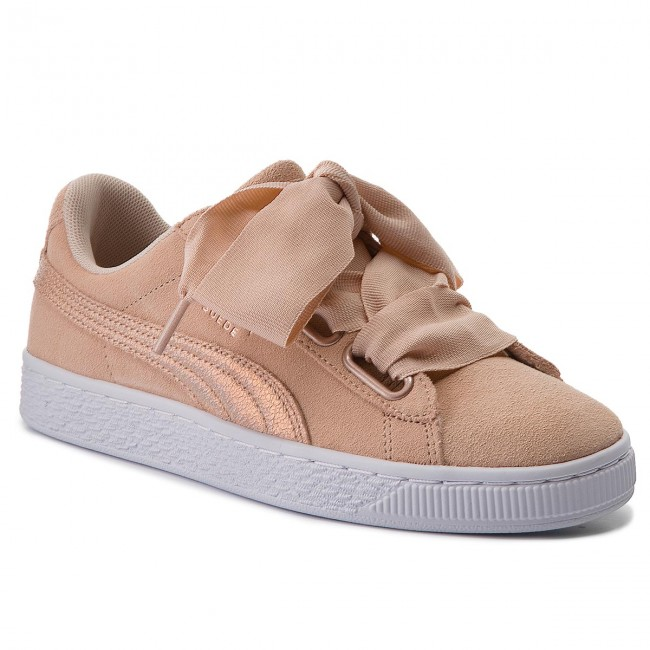 02 Puma Sneakers 366114 Wn's Suede Cream Heart Tan Lunalux hrxQdsBCt