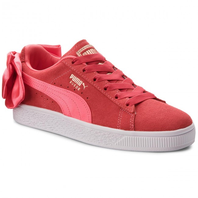 Puma Paradise summer 367316 Femme Chaussures Basses paradise Pink Suede q2 Sneakers 02 Bow Pink Spring 2018 Jr mnN0v8wO
