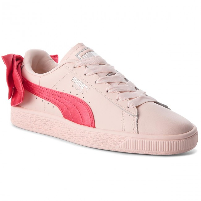 Basses 367321 Paradise Sneakers Pink Spring 2018 Bow Jr summer q1 Puma Femme Pink Basket paradise Chaussures 02 76ybIfvgY