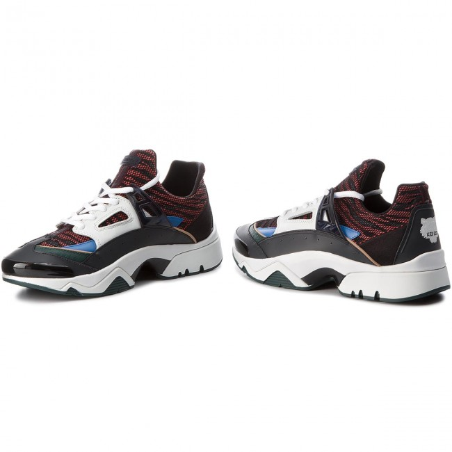 d4d4bd46f468ce Sneakers KENZO - F865SN350F74 Multicolore 72 - Sneakers - Chaussures ...