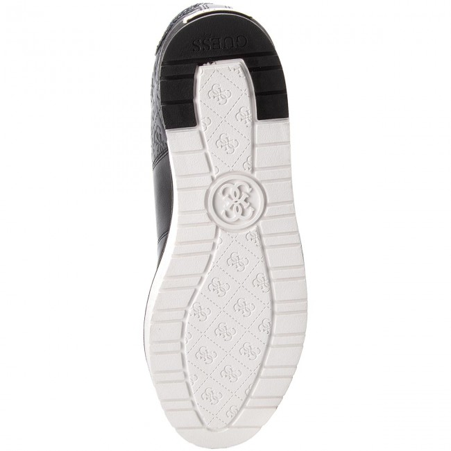 Sneakers GUESS - - FLDBY3 PEL12  BLACK - Sneakers - - Chaussures basses - Femme 0eb5dc