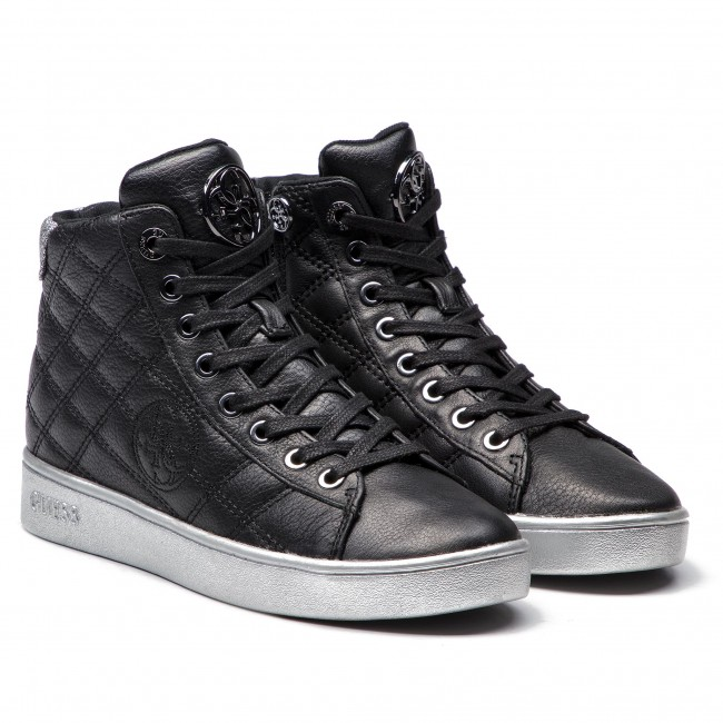 Sneakers Guess Flbax4 Lea12 Black Chaussures Basses Femme Fall/winter 2018