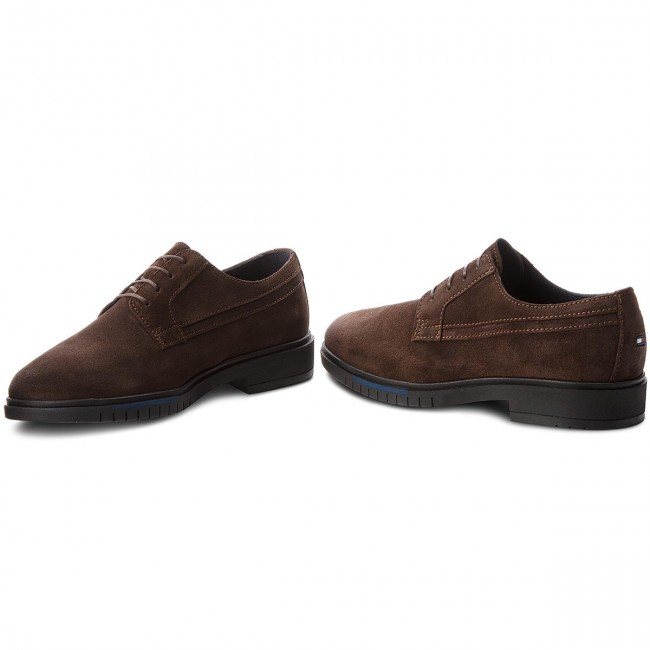 Fm0fm01736 Dressy Bean Basses 212 Tommy Flexible Sued Hilfiger Coffee Chaussures PTkZiXuO