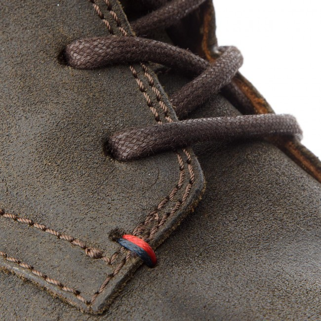Winter Boot Fm0fm00766 Suede Olive Boots Tommy Night Hilfiger 010 rBdxoeWC
