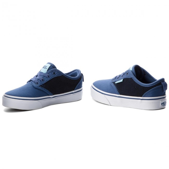 Vans Femme summer Atwood Spring 2018 Vn0a38ixr7rcheckered TextileNavy Baskets Chaussures Basses Slip Tennis on TJc3KFl1