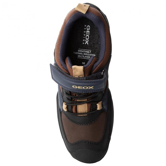 Basses Fermeture Geox on Enfant J B C Scratch 2018 D winter Gar savage 011bc C0947 Chaussures Fall N J841wc Brown navy b Abx H2YD9IWE