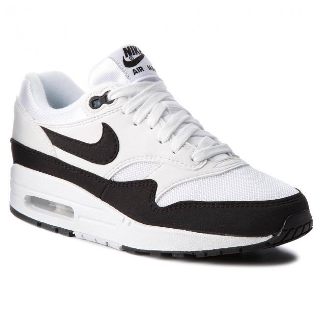 on sale c9af4 66bf7 Chaussures NIKE - Air Max 1 319986 109 White Black White Black White Black  - Sneakers - Chaussures basses - Femme 45dc39