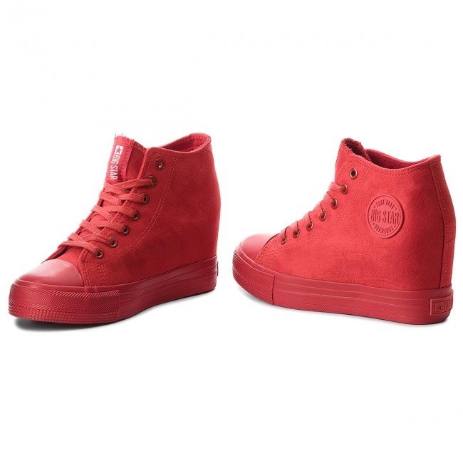 2019 Bb274088 Spring Femme Star Sneakers summer Big red Chaussures Micro Basses BerdxCQoWE
