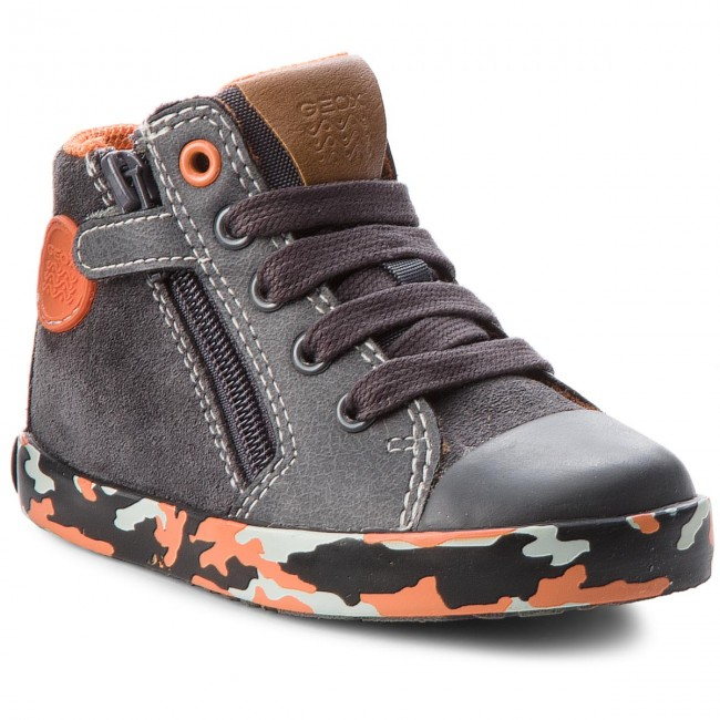 Bottes Autres BB74a7b M Enfant C1361 Et Gar on Fall Kilwi 2018 022bc winter B Boots Grey Geox orange Dk zqSVUMp