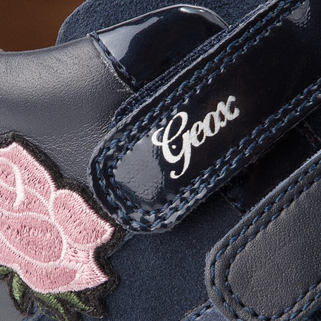 Fermeture C4002 2018 B N Fall Geox winter Sneakers 08522 Enfant Chaussures Navy balu' GB840qb Scratch Basses Fille dxBCoerW