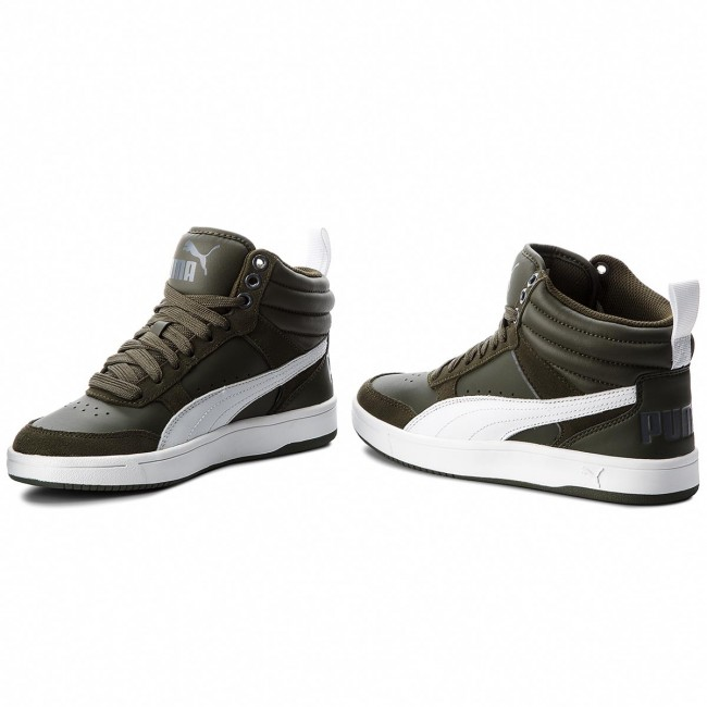 Femme 09 363715 2018 Gate winter Night Sneakers Rebound V2 Chaussures Fall q3 Forest Puma white Street Basses iron dCBxero