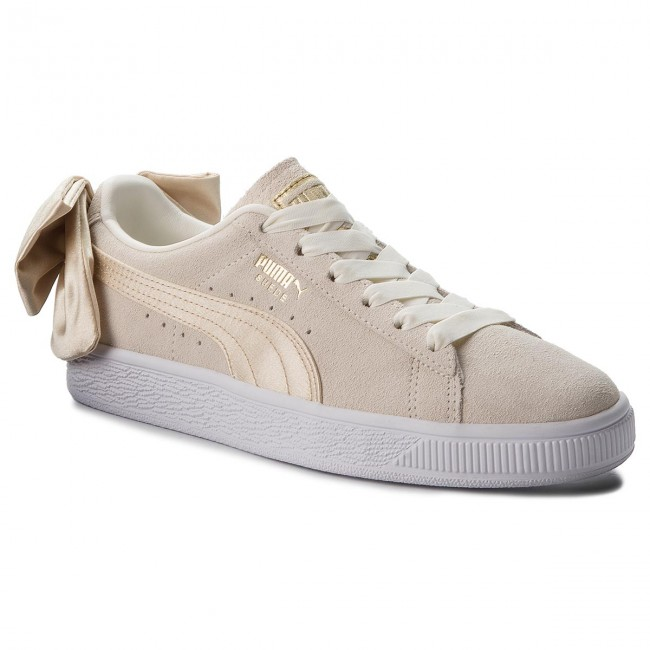 Sneakers Femme Fall Suede Gold Varsity Wn's Puma Basses winter q3 2018 Chaussures Bow 367732 Marshmallow 03 metallic Yf7g6by