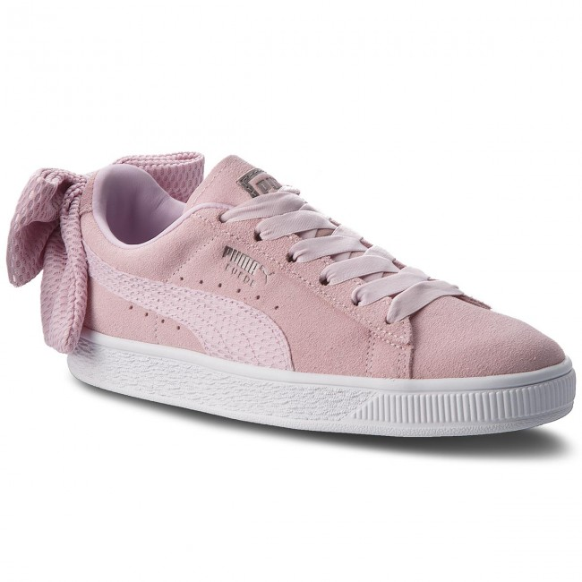 03 Puma Bow Sneakers 367455 Suede Wn's Winsome Uprising Orchid 8P0wknO