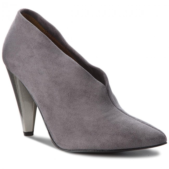 Gris 2018 01 34303 i09 Fall Chaussures Basses 000 04 Femme Talons winter 00 Solo qzMUVpGS