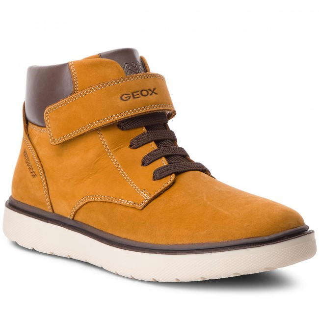 23ca9c25b161b0 Boots GEOX - J Riddock B. Wpf J847TA 032BC C2006 D Dk Yellow - Boots ...
