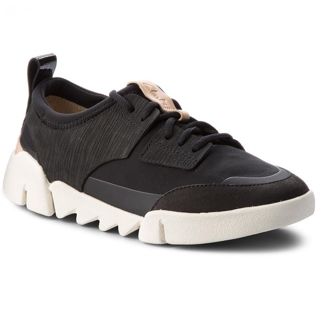 Basses Black Combi Chaussures Clarks 261336664 Tri Spirit rthCQds
