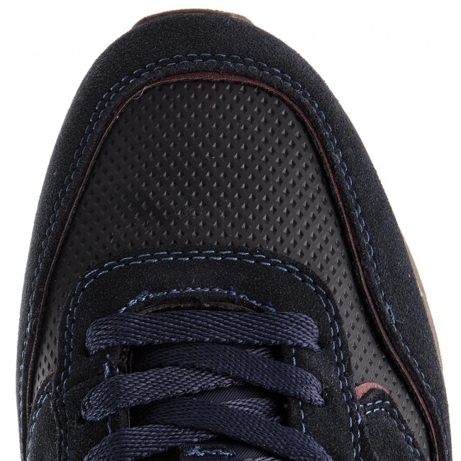 Sneakers Suede Wm182115 Wrangler Navy Forest 16 IWD9YEH2
