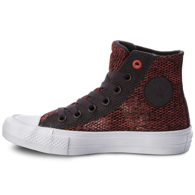 Chaussures Fall Hi ultra Baskets Ctas winter white Femme Basses Sneakers 2017 Ii 155729c Converse Almost Black Red R54Aj3Lq