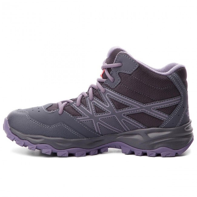 Chaussures Trekking Face Mid De Periscope purple Sage Grey The Wp Hiker North Hedgehog Nf00cj8q5ss iXPOkZu