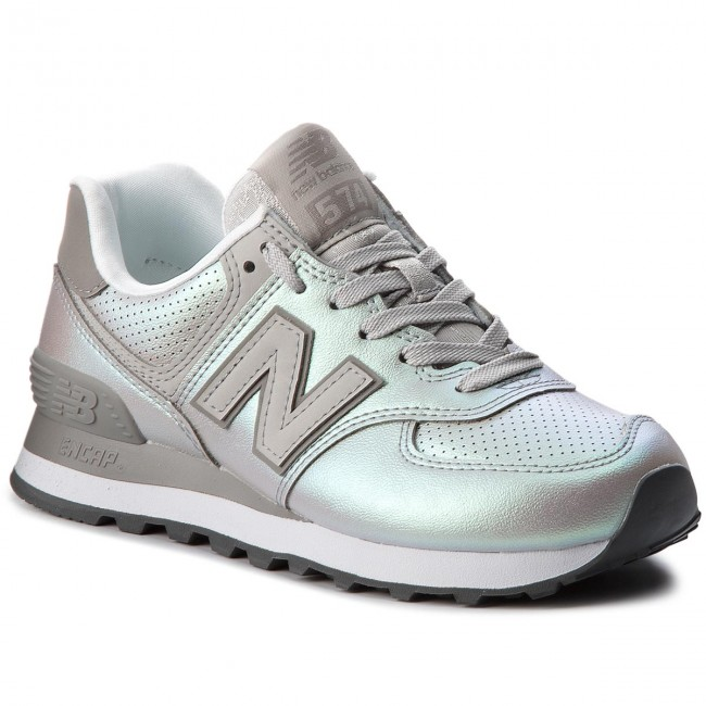 Sneakers Balance Wl574ksc Chaussures Argent New T7xTAq0