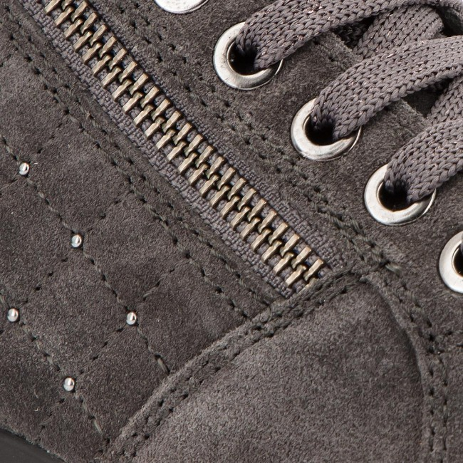 Grey Femme Sneakers Chaussures C dk Fall 2018 022nf Basses D6468c D Myria winter Geox C0268 Anthracite cKlF3T1J