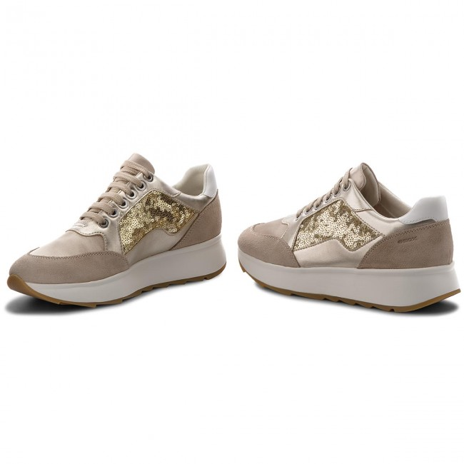 Gold Chaussures Spring summer Femme C2012 Lt Basses Geox 2018 Sneakers D D745tb Gendry 0ajay B Ybf76ymgIv