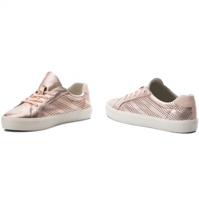 Gold summer Sneakers Mary Gant Spring 2018 Basses 16531443 Femme G23 Chaussures Rose 3Aq4jL5R