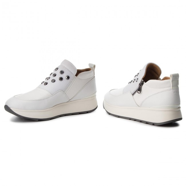Geox Basses D 2018 C1000 Fall Femme winter D745ta Sneakers Gendry A White Chaussures 08554 IYm6bf7yvg