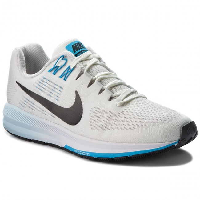 size 40 51cfd babc5 Chaussures NIKE - Air Zoom Structure 21 904701 007 Vast Grey Black Sail