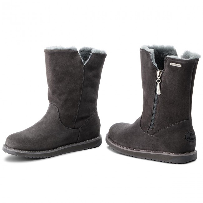Emu Charcoal Australia Chaussures Gravelly W11561 wOPXnk80