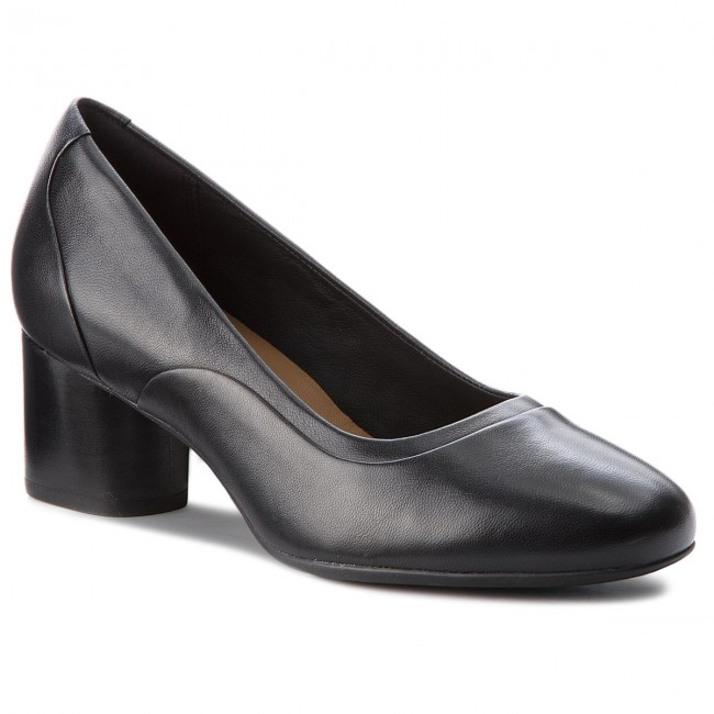 Basses Spring Step Un Clarks Leather Black summer Cosmo