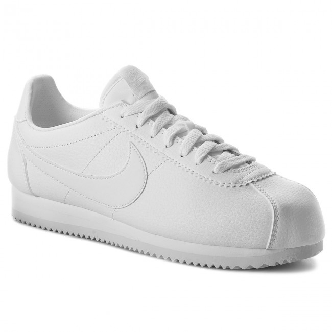 111 Cortez 749571 Nike Leather white Classic Chaussures White white dBoCxe
