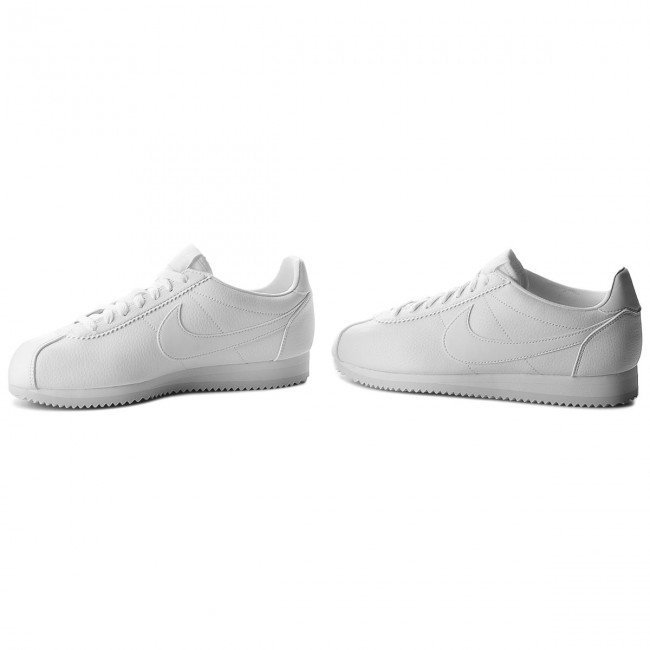 White 111 Chaussures Leather Classic Cortez Nike white white 749571 W2DHeEIY9