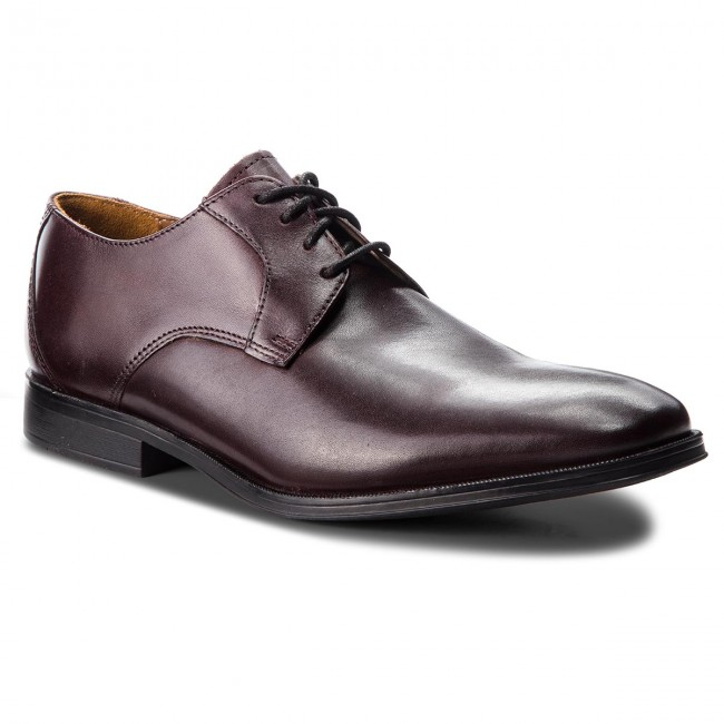 Basses 261362387 Clarks Fall 2018 Chaussures winter Homme Lace Soiree Gilman Burgundy Leather Yyvfgb76