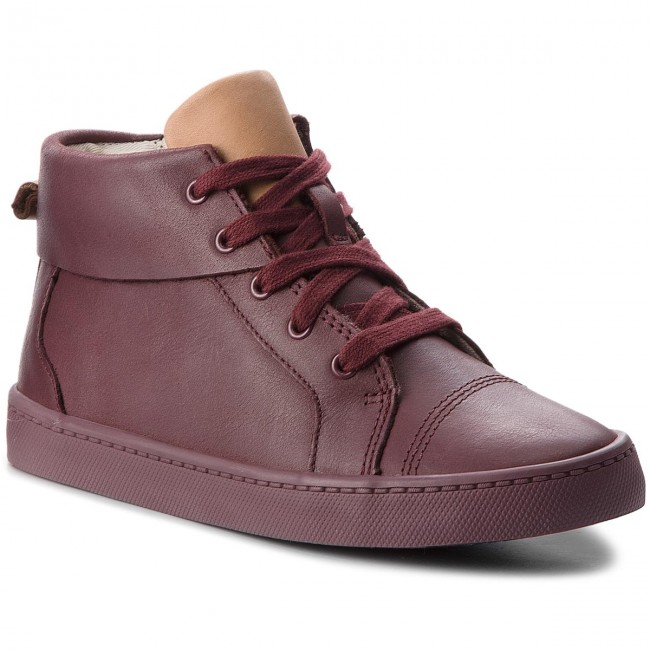 winter 2018 261370367 Boots Autres Clarks Fall Enfant City Hi Bottes Oasis Leather Fille Burgundy Et WEH9DY2I