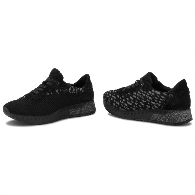2018 08 Chaussures Sneakers winter 49508 Romika Femme Houston combi Fall 106 Basses 101 Black 1T5KculJ3F