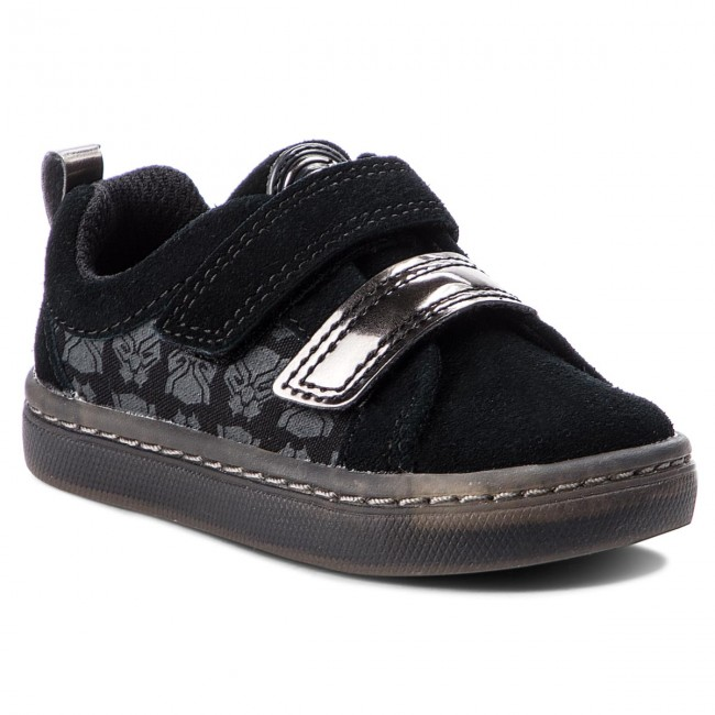 Clarks on blk Black winter Scratch Enfant 261376697 Fermeture Sneakers 2018 Hero Lo Basses Gar City Suede Chaussures Fall doCxBe