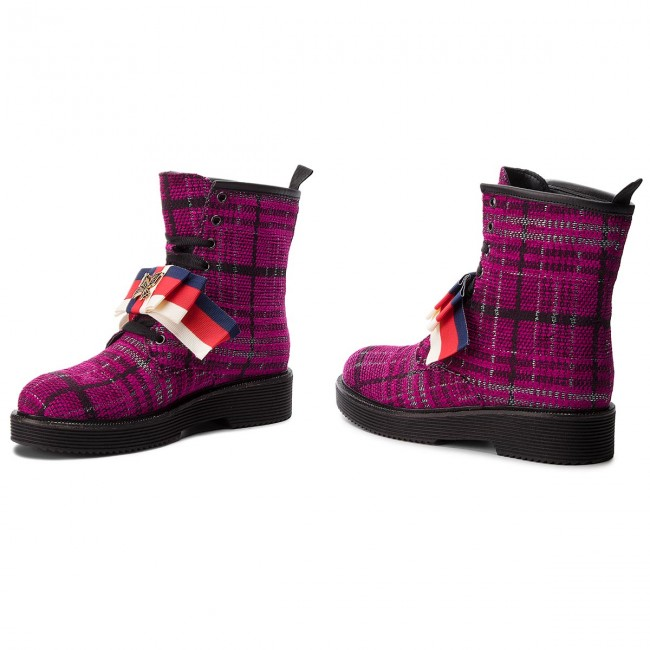 Hego's A914 Bottines Fuxia fiocco Milano VUpSzM
