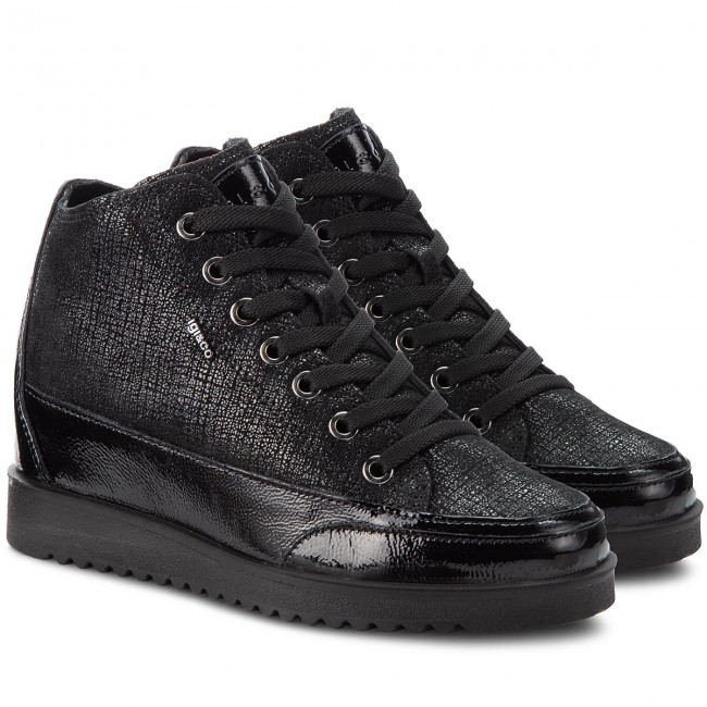 Sneakers IGI&CO - 2160900 Nero - Sneakers - Chaussures Chaussures Chaussures basses - Femme | Art Exquis