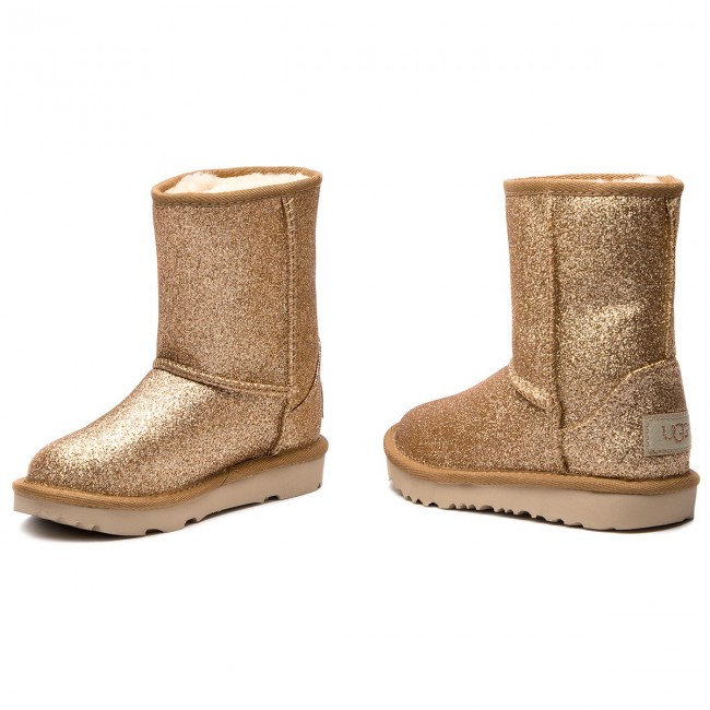 Classic Bottes T Glitter Chaussures Autres Ugg Enfant gold T 2018 winter Fille Short 1098491t Ii Et Fall IWD2EH9